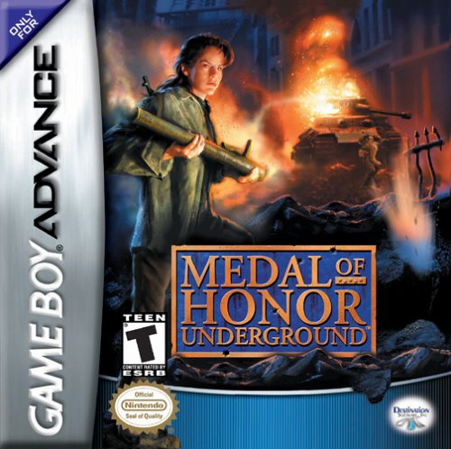 Caratula de Medal of Honor: Underground para Game Boy Advance