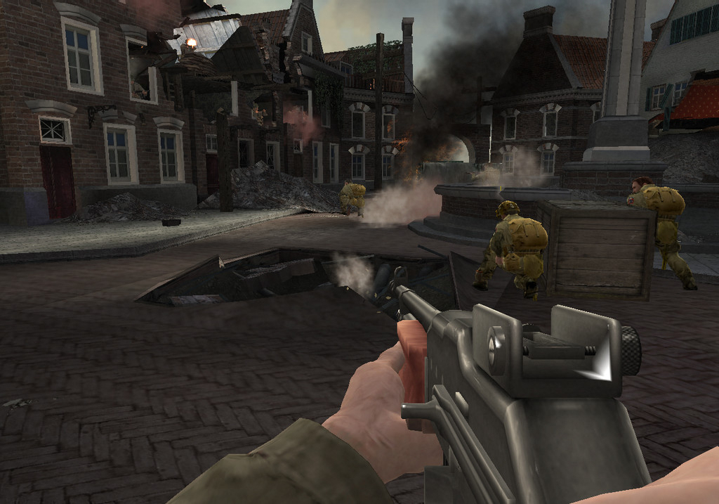 Pantallazo de Medal of Honor: Vanguard para Wii