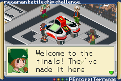 Pantallazo de Mega Man Battle Chip Challenge para Game Boy Advance