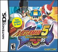 Caratula de Mega Man Battle Network 5: Double Team para Nintendo DS