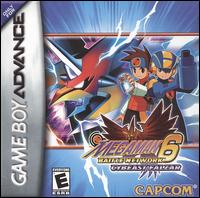 Caratula de Mega Man Battle Network 6: Cybeast Falzar para Game Boy Advance
