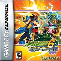 Caratula de Mega Man Battle Network 6: Cybeast Gregar para Game Boy Advance