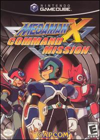 Caratula de Mega Man X Command Mission para GameCube