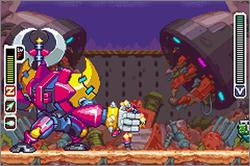 Pantallazo de Mega Man Zero 4 para Game Boy Advance
