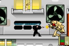 Pantallazo de Men in Black: The Series para Game Boy Advance