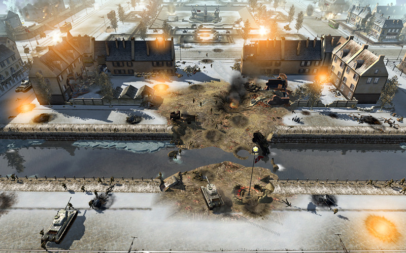 Pantallazo de Men of War: Assault Squad para PC