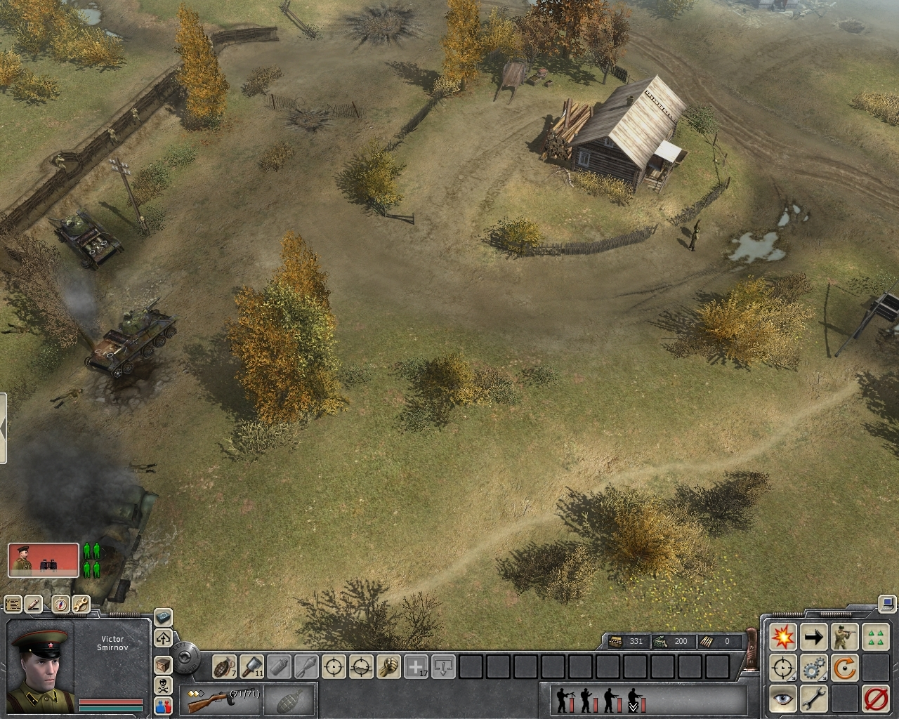 Pantallazo de Men of War para PC