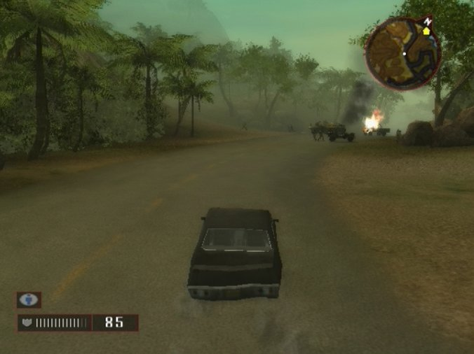 Pantallazo de Mercenaries 2: World in Flames para PlayStation 2