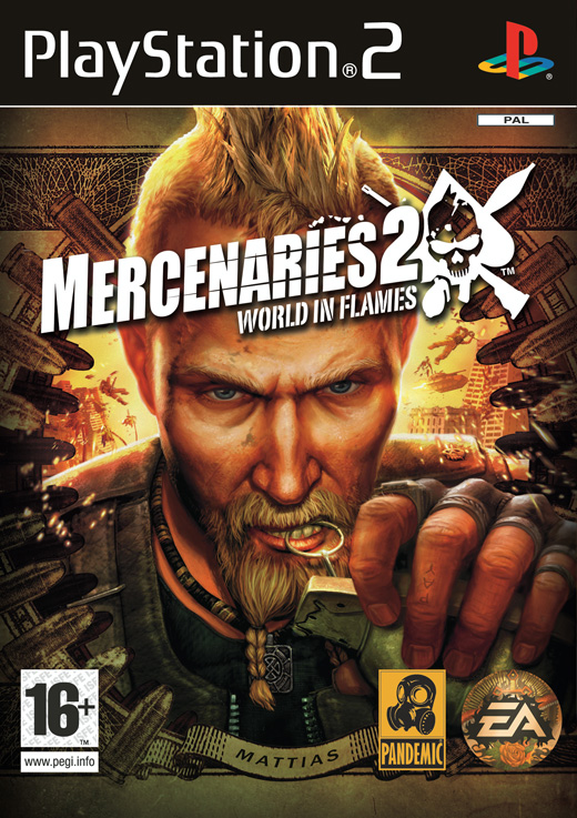 Caratula de Mercenaries 2: World in Flames para PlayStation 2