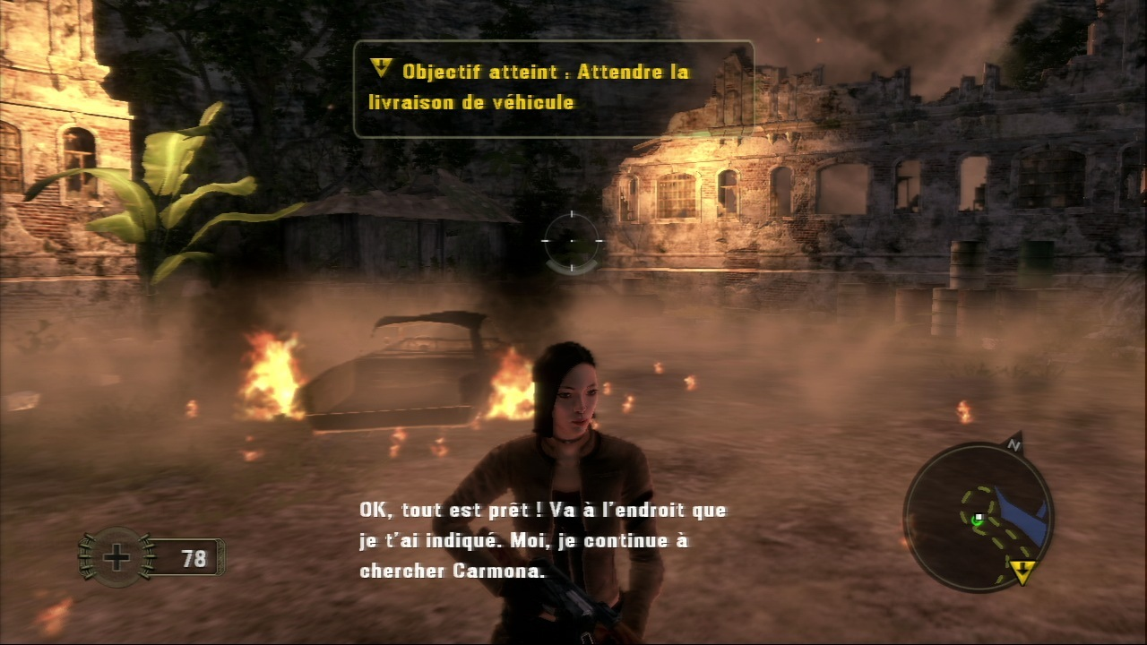 Pantallazo de Mercenaries 2: World in Flames para PlayStation 3
