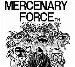 Pantallazo de Mercenary Force para Game Boy