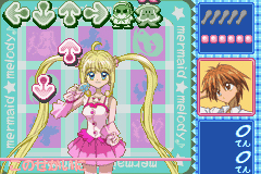 Pantallazo de Mermaid Melody - Pichi Pichi Pitch (Japonés) para Game Boy Advance