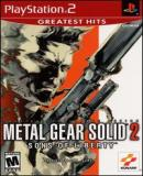 Carátula de Metal Gear Solid 2: Sons of Liberty [Greatest Hits]