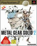 Carátula de Metal Gear Solid 2: Sons of Liberty [Mega Hits!] (Japonés)
