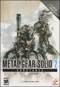 Caratula de Metal Gear Solid 2: Substance para PC