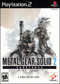 Caratula de Metal Gear Solid 2: Substance para PlayStation 2