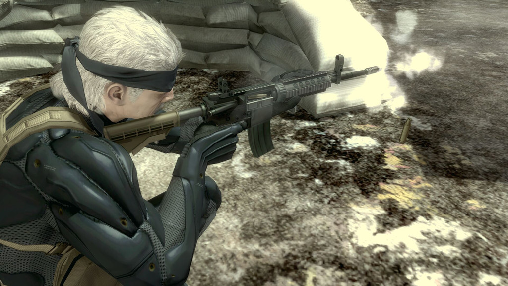 Pantallazo de Metal Gear Solid 4 : Guns of the Patriots para PlayStation 3