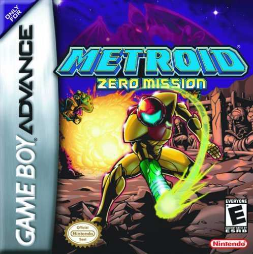 Caratula de Metroid: Zero Mission para Game Boy Advance