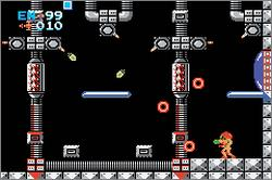 Pantallazo de Metroid [Classic NES Series] para Game Boy Advance