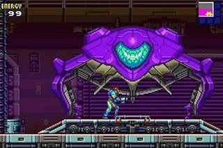 Pantallazo de Metroid Fusion para Game Boy Advance