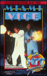 Caratula de Miami Vice para Commodore 64