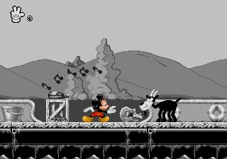 Pantallazo de Mickey Mania: The Timeless Adventures of Mickey Mouse (Europa) para Sega Megadrive