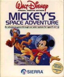 Caratula de Mickey's Space Adventure para PC