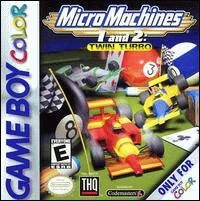 Caratula de Micro Machines 1 and 2: Twin Turbo para Game Boy Color