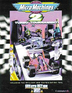 Caratula de Micro Machines II: Turbo Tournament para PC