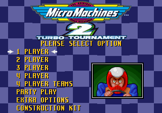 Pantallazo de Micro Machines II: Turbo Tournament para PC
