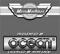 Pantallazo de Micro Machines para Game Boy