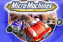 Pantallazo de Micro Machines para Game Boy Advance