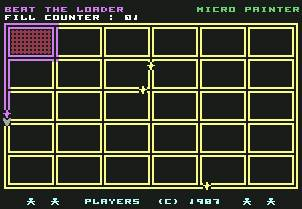Pantallazo de Micro Painter para Commodore 64