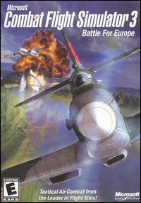 Caratula de Microsoft Combat Flight Simulator 3: Battle for Europe para PC