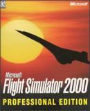 Carátula de Microsoft Flight Simulator 2000 Professional Edition