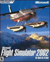 Caratula de Microsoft Flight Simulator 2002 para PC