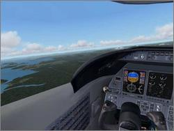Pantallazo de Microsoft Flight Simulator 2004: A Century of Flight para PC