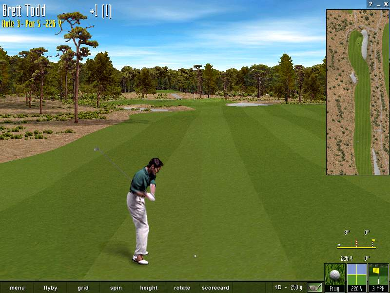 Pantallazo de Microsoft Golf 1999 Edition para PC
