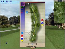 Pantallazo de Microsoft Golf 2001 Edition para PC