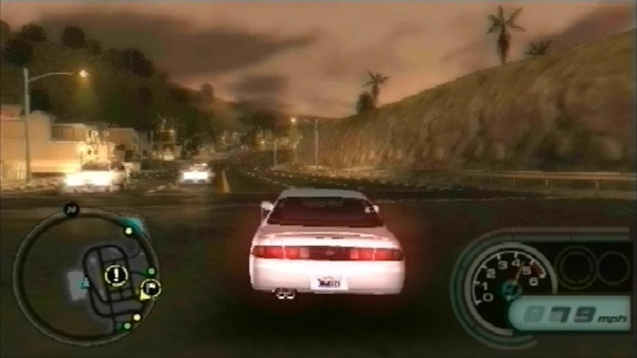 Pantallazo de Midnight Club: L.A. Remix para PSP