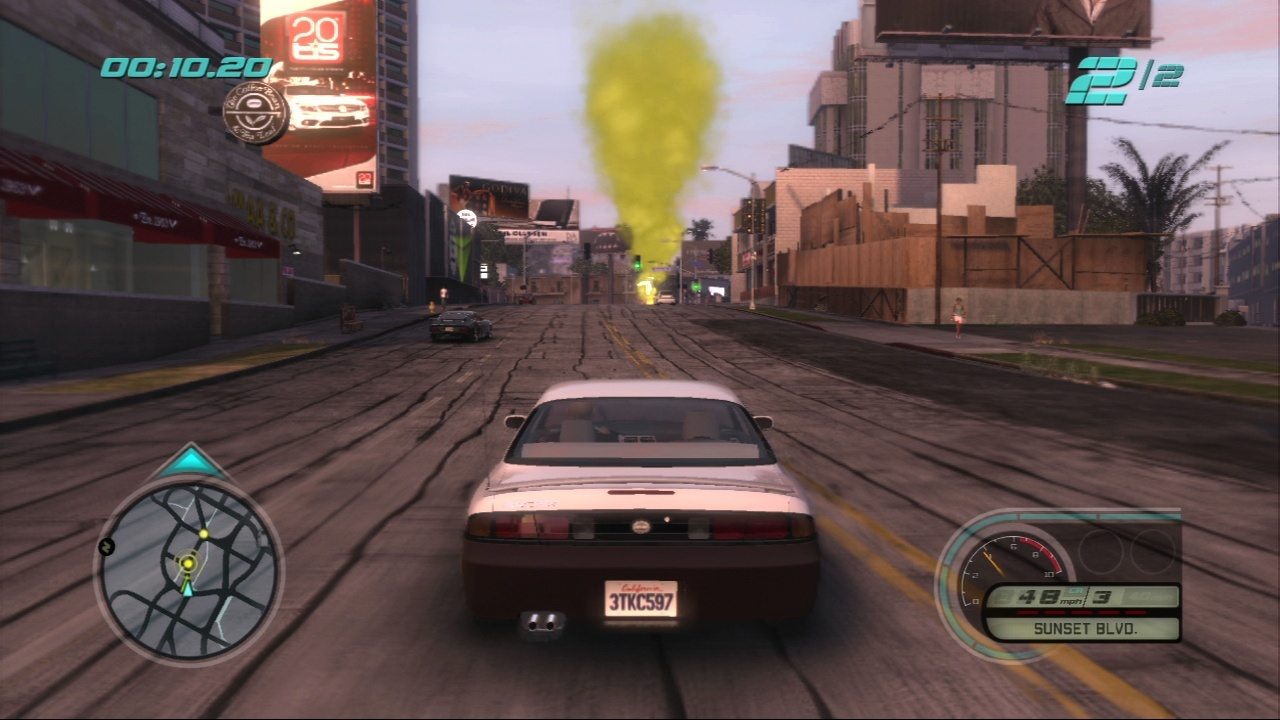 Pantallazo de Midnight Club: Los Angeles para PlayStation 3