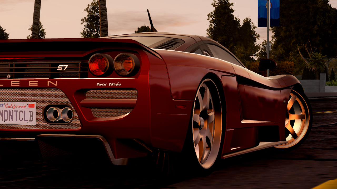 Pantallazo de Midnight Club: Los Angeles para Xbox 360