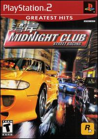 Midnight club: street racing [greatest hits] (caratula de playstation