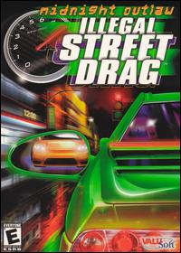 Caratula de Midnight Outlaw: Illegal Street Drag para PC