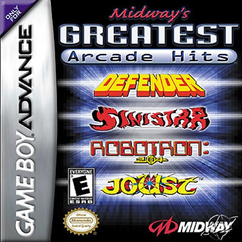 Caratula de Midway's Greatest Arcade Hits para Game Boy Advance