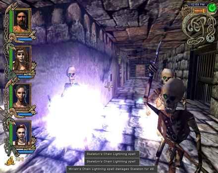 Pantallazo de Might and Magic IX para PC