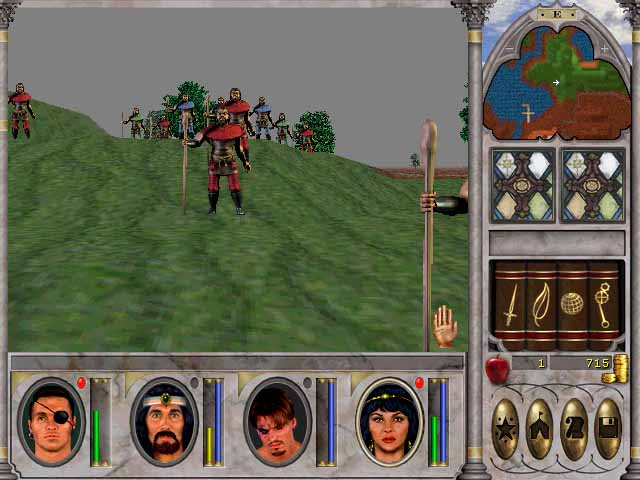Pantallazo de Might and Magic VI: The Mandate of Heaven para PC
