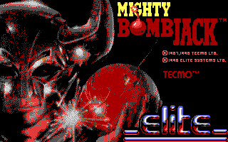 Pantallazo de Mighty BombJack para PC