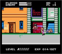 Pantallazo de Mighty Final Fight para Nintendo (NES)