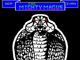 Pantallazo de Mighty Magus para Spectrum